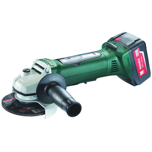 Metabo WP 18 LTX 115 18V 5.2 Ah Cordless Lithium-Ion 4-1/2 in. Non-Locking Angle Grinder Kit