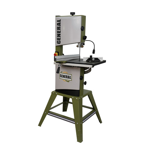 General International 90-040 M1 12 in. 2/3 HP Wood Cutting Vertical Band Saw image number 0