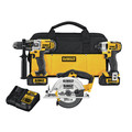 Factory Reconditioned Dewalt DCK390L2R 20V MAX Lithium-Ion 3-Tool Combo Kit