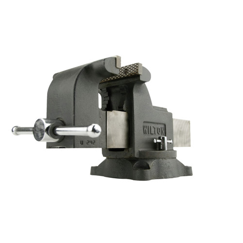 Wilton 63304 WS8, Shop Vise, 8 in. Jaw Width, 8 in. Jaw Opening, 4 in. Throat Depth