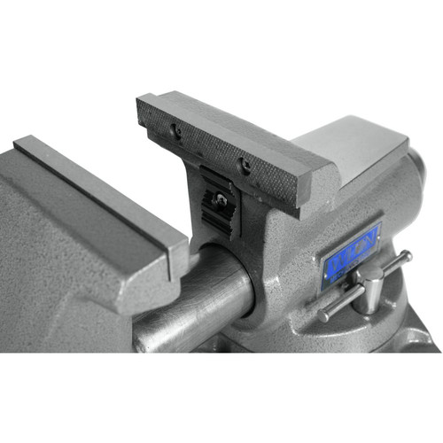 Wilton 28811 855M Mechanics Pro Vise with 5-1/2 in. Jaw Width, 5 in. Jaw Opening and 360-degrees Swivel Base image number 7