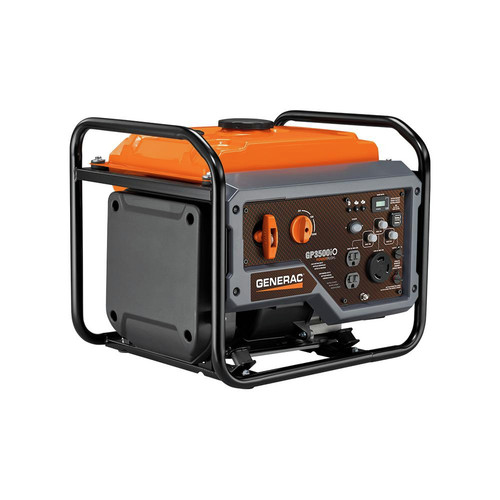 Generac 7128 GP3500iO Open Frame RV Ready Inverter Generator - 3500 Starting Watts with PowerRush Technology image number 0