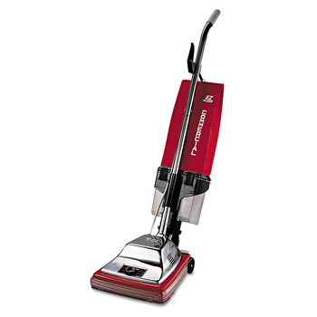 Sanitaire SC887E 7 Amp TRADITION 12 in. Upright Vacuum with Dust Cup - Red/Steel
