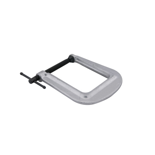 Wilton 42520 Deep-Reach Carriage C-Clamp, 0 in. - 2 in. Jaw Opening, 3-1/2 in. Throat Depth