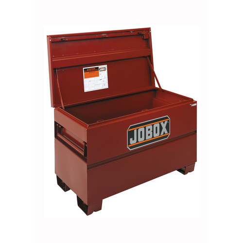 JOBOX 1-656990 48 in. Long Taller & Wider Heavy-Duty Steel Chest with Site-Vault Security System image number 0