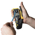 Klein Tools VDV226-110 Ratcheting Cable Crimper/Stripper/Cutter for Pass-Thru Connectors image number 8