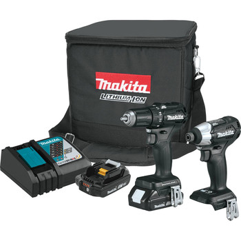 Makita CX200RB 18V LXT Lithium-Ion Sub-Compact Brushless 2-Piece Combo Kit
