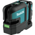 Makita SK105GDNAX 12V max CXT Lithium-Ion Cordless Self-Leveling Cross-Line Green Beam Laser Kit (2 Ah) image number 2