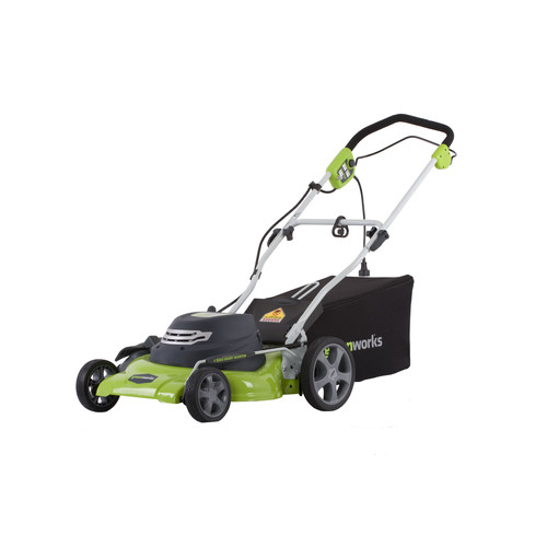 Greenworks 25022 12 Amp 20 in. 3-in-1 Electric Lawn Mower