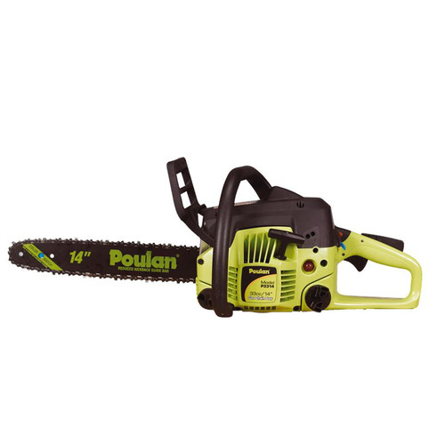Poulan P3314 33cc Gas 14 in. Rear Handle Chainsaw