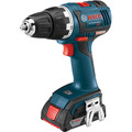 Factory Reconditioned Bosch DDS182-02-RT 18V Lithium-Ion Brushless Compact Tough 1/2 in. Cordless Drill Driver Kit (2 Ah) image number 1