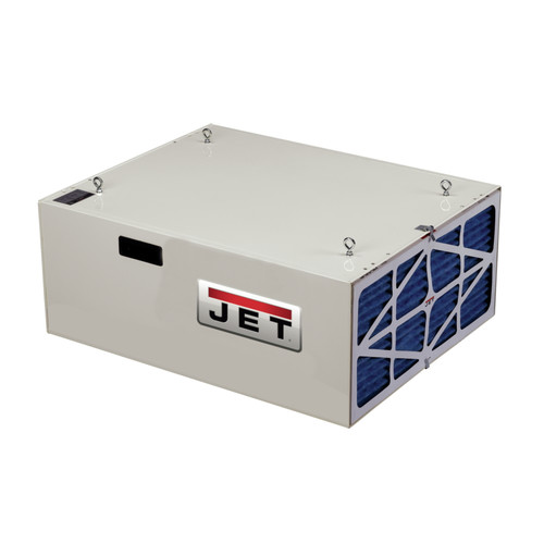 JET 708620B 1,000 CFM Heavy-Duty Air Filtration System with Remote Control image number 0