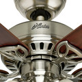 Hunter 53079 42 in. Beacon Hill Brushed Nickel Ceiling Fan with Light image number 4