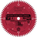 Freud LU96R008 8 in. 64 Tooth Thin Kerf Double-Sided Laminate/Melamine Saw Blade