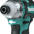 Factory Reconditioned Makita DT04R1-R CXT 12V Cordless Lithium-Ion 1/4 in. Brushless Impact Driver Kit with (2) 2 Ah Batteries image number 5