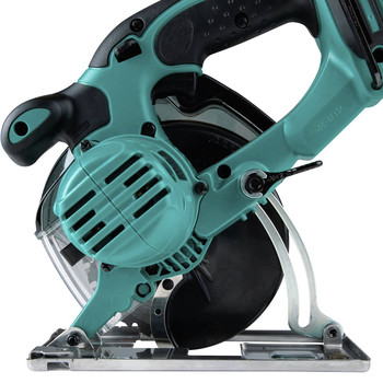 Makita XSC03Z 18V LXT Lithium-Ion Cordless 5-3/8 in. Metal Cutting Saw with Electric Brake and Chip Collector (Tool Only) image number 2