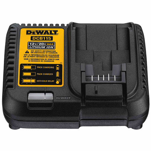 Dewalt DCB205-2CK 20V MAX 5 Ah Lithium-Ion Battery (2-Pack) and Charger Starter Kit image number 3