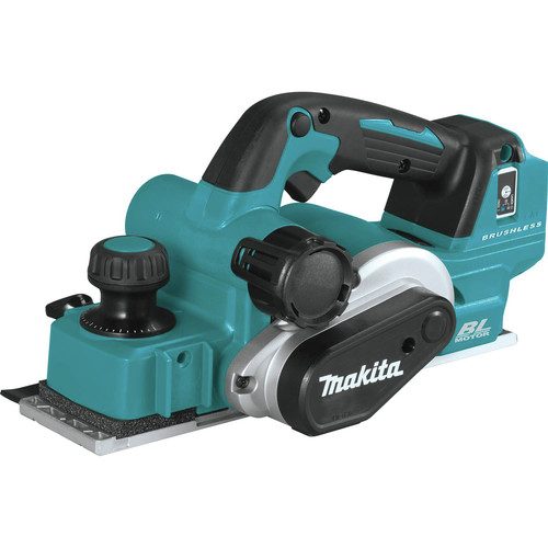 Makita XPK02Z 18V LXT AWS Capable Brushless Lithium-Ion 3-1/4 in. Cordless Planer (Tool Only) image number 0
