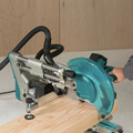 Makita LS1219L 12 in. Dual-Bevel Sliding Compound Miter Saw with Laser image number 10