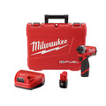 Milwaukee 2553-22 M12 FUEL 1/4 in. Hex Impact Driver Kit image number 0