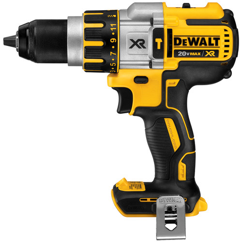 Factory Reconditioned Dewalt DCD995BR 20V MAX XR Cordless Lithium-Ion 3-Speed 1/2 in. Brushless Hammer Drill (Bare Tool)