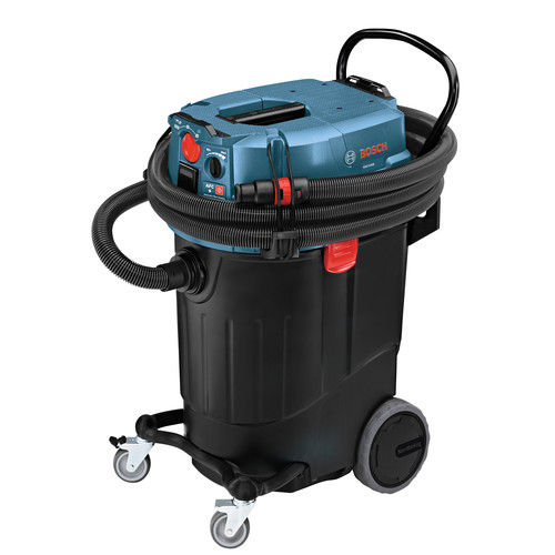 Factory Reconditioned Bosch VAC140A-RT 14 Gallon 9.5 Amp Dust Extractor with Auto Filter Clean image number 0