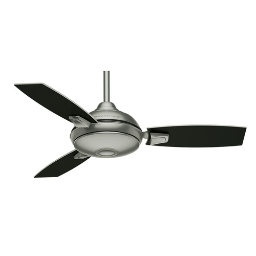 Casablanca 59155 44 in. Verse Satin Nickel Ceiling Fan with Light and Remote image number 5