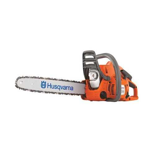 Husqvarna 967651102 II E-Series 50.2cc Gas 18 in. Rear Handle Chainsaw image number 0
