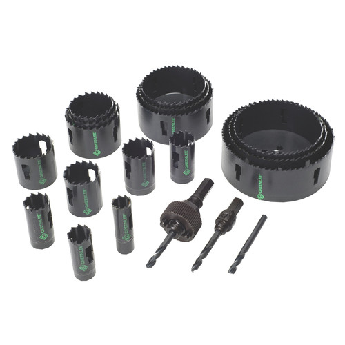 Greenlee 50034790 19-Piece Industrial Maintenance Bi-Metal Hole Saw Kit for 3/4 in. to 4-3/4 in. Conduit image number 1