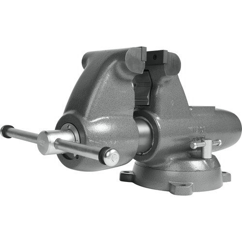 Wilton 28828 C-3 Combination Pipe and Bench 6 in. Jaw Round Channel Vise with Swivel Base image number 0