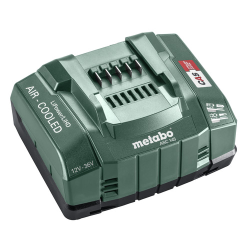 Metabo 627380000 ASC 145  Fast Battery Charger for 12V-36V Batteries image number 0