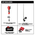 Milwaukee 2825-21ST M18 FUEL String Trimmer Kit with QUIK-LOK image number 1