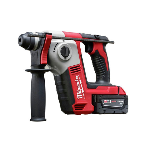 Milwaukee 2612-21 M18 18V Cordless Lithium-Ion 5/8 in. SDS-Plus Rotary Hammer Kit