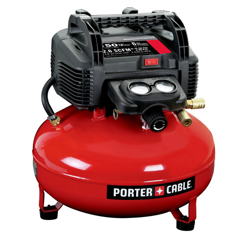 Porter-Cable C2002 | 0.8 HP 6 Gallon Oil-Free Pancake Air Compressor | Tyler Tool