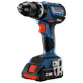 Factory Reconditioned Bosch GSB18V-535CB15-RT 18V Lithium-Ion Brushless 1/2 in. Cordless Hammer Drill Driver Kit (4 Ah) image number 1