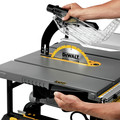 Dewalt DWE7491RS 10 in. 15 Amp  Site-Pro Compact Jobsite Table Saw with Rolling Stand image number 10