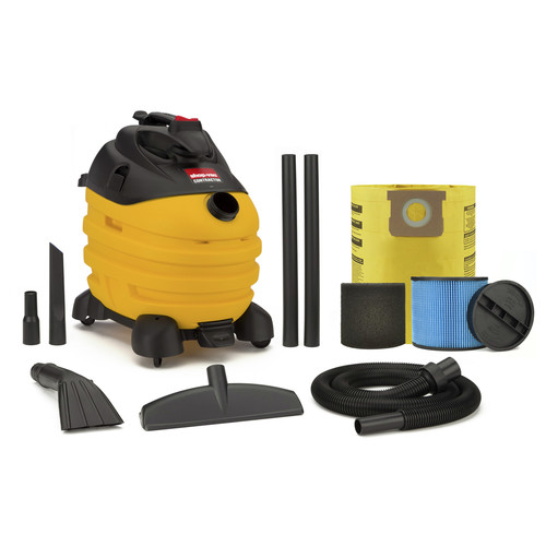Shop-Vac 5873810 10 Gallon 6.0 Peak HP Contractor Portable Wet Dry Vacuum image number 0