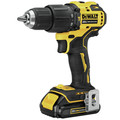 Factory Reconditioned Dewalt DCD709C2R ATOMIC 20V MAX Brushless Lithium-Ion Compact 1/2 in. Cordless Hammer Drill Kit image number 1
