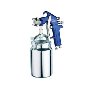 Astro Pneumatic 4008 High Performance Spray Gun 1.8mm Nozzle, Blue with 1000cc Cup