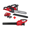 Milwaukee 2727-21HDP M18 FUEL 16 in. Chainsaw with FREE Blower Kit image number 0