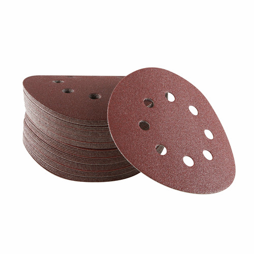 Bosch SR5R320 5-Pc 5 in. 320-Grit Sanding Discs for Wood image number 0