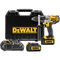Dewalt DCD985M2 20V MAX Cordless Lithium-Ion 1/2 in. Premium 3-Speed Hammer Drill Kit with 4.0 Ah Batteries