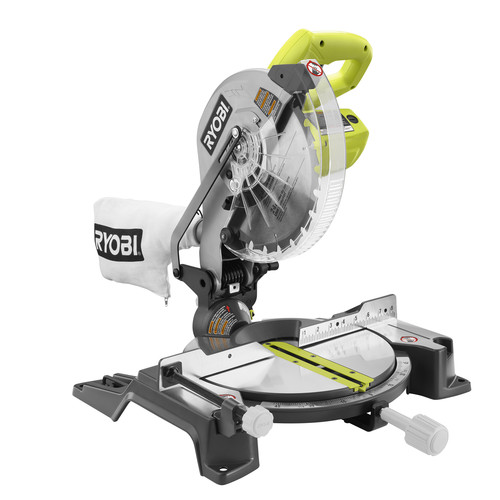 Factory Reconditioned Ryobi ZRTS1345L 10 in. Compound Miter Saw with Laser Line