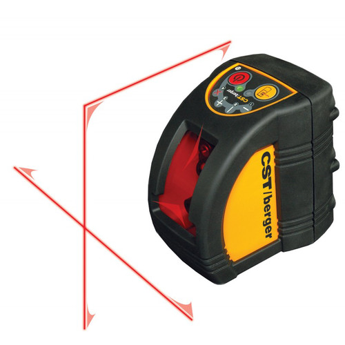 Factory Reconditioned CST/berger 58-ILM-XT-RT Interior-Exterior Hi-Powered Self-Leveling Cross Laser Level Kit