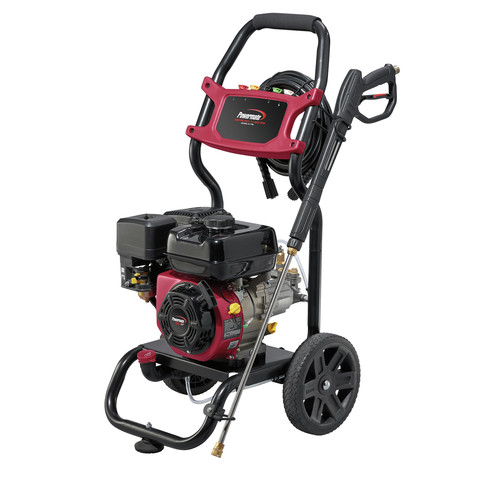 Powermate 7130 2800 PSI Gas Powered Pressure Washer 2.3 GPM with 4 Nozzles, 25 ft. Hose and On-Board Detergent Tank