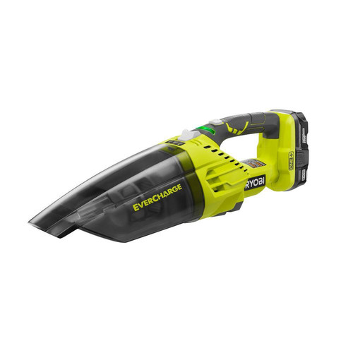 Factory Reconditioned Ryobi ZRP714K 18V ONE Plus Lithium-Ion EVERCHARGE Hand Vacuum Kit