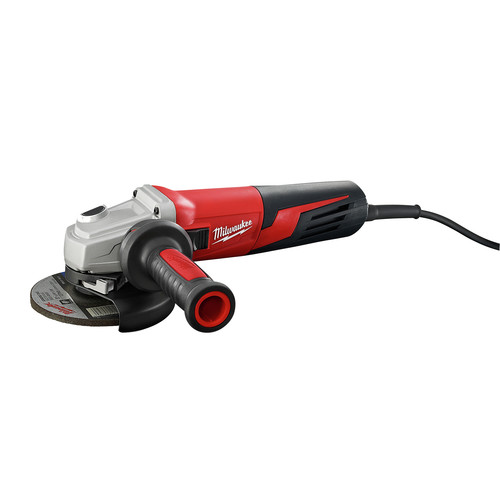 Factory Reconditioned Milwaukee 6117-833D 5 in. 13 Amp Slide Switch Small Angle Grinder with Lock-On and Dial Speed