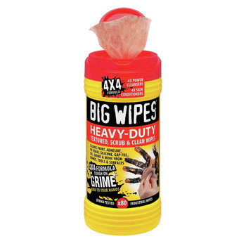 Big Wipes 6002 0046 Heavy Duty Dual Side Cleaning Wipes