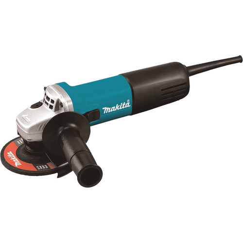 Factory Reconditioned Makita 9557NB-R 7.5 Amp 4-1/2 in. Slide Switch AC/DC Angle Grinder image number 0