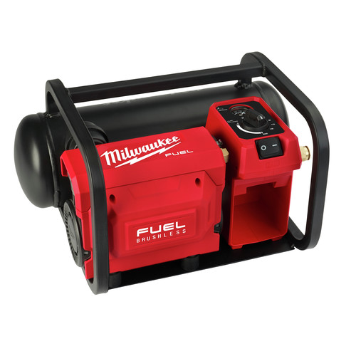 Milwaukee 2840-20 M18 FUEL Brushless Cordless 2 Gallon Compact Quiet Air Compressor (Tool Only) image number 0